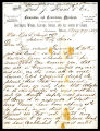 Letter from Fred. J. Kiesel & Co. to Mesr. Geo L Shoup & Co., Aug. 29, 1877